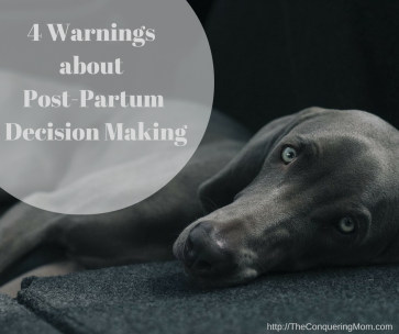 Tiredness and decision-making do not mix.