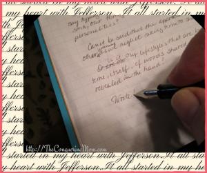 Do you need to write?